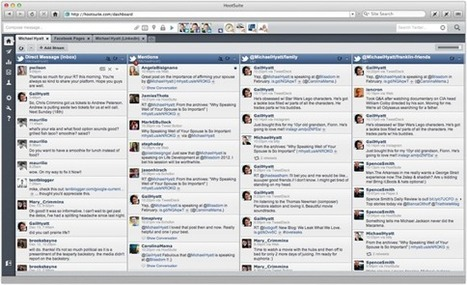 Social Media Tools That Will Save You Time | Articles of interest | Scoop.it