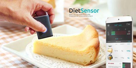 DietSensor, le coach nutritionnel avec scanner moléculaire - Web des Objets | Quantified Self | Scoop.it