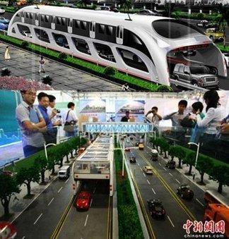 Straddling bus : le mode de transport écologique estarrivé | Les transports urbains | Scoop.it