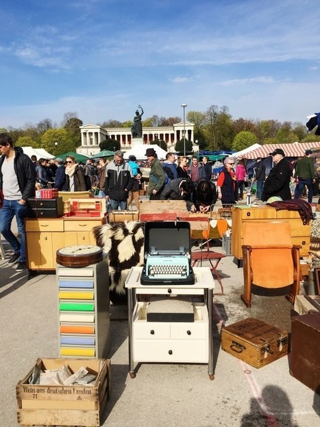 Flea Market in Munich · Happy Interior Blog | Interior Design & Decoration | Scoop.it