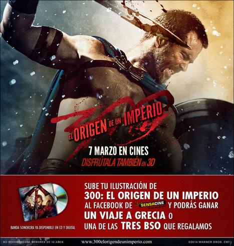 Concurso de cine - ¡Viaja a Grecia con 300: EL ORIGEN DE UN IMPERIO! - SensaCine.com #yoconozcomiherencia | EURICLEA | Scoop.it