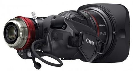 1.- Primera óptica zoom tipo cine con servo incorporado de Canon | Cameras, edición y audiovisual en general | Scoop.it