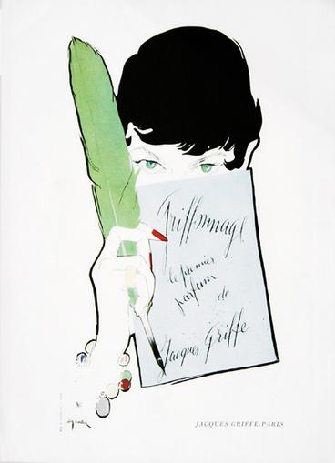 René Gruau, illustrateur de publicités de parfums   Parfum et Publicités de parfum   Scoop.it