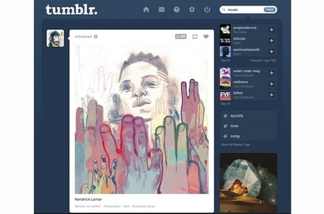 Tumblr Gets Into Music Discovery | Musicbiz | Scoop.it