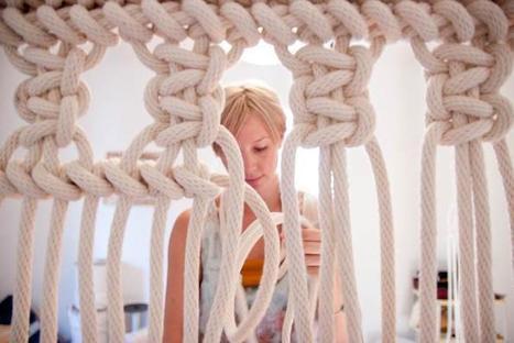 Sally England, fiber artist – Sight Unseen | Art & Craft | Scoop.it