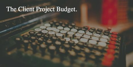 imjustcreative | The Logo Smith DesignerFreelancers: It's OK to Ask a Client for a Bigger Project Budget | Design | Scoop.it