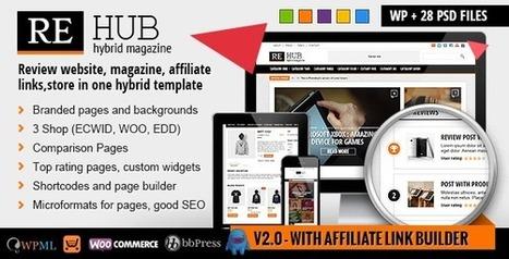 REHub - Comparison, Shop, Review, Affiliate Theme   wordpress themes   Scoop.it