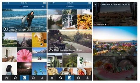 Instagram continue de miser sur les vidéos | Made In Retail : Mode & Médias sociaux | Scoop.it