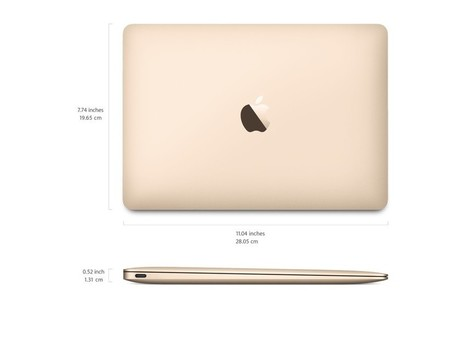 The 12-Inch Apple MacBook Details You Should Know About | Technology News | Scoop.it