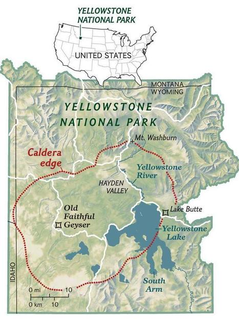 Yellowstone Caldera | History - Texas and Beyond | Scoop.it