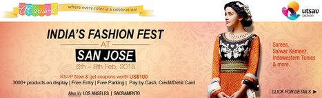 UCarnival San Jose 2015 - Indian Ethnic Wear Fest - Sunnyvale,  | Events in Sunnyvale | Sandhira News | Scoop.it