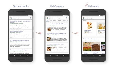Google Search is getting rich cards, starting with recipes and movies onmobile | Digital Brand Marketing | Scoop.it