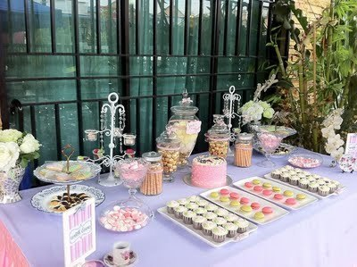 The Wedding Heaven: PURPLE/PINK/GREEN-- THEMED CANDY BUFFET   colour trends for events 2013-2014   Scoop.it
