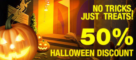 WebHostingBuzz 50% Halloween Discount | Web Hosting | Scoop.it