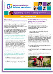 NQS PLP e-Newsletter No. 59 2013 - Rethinking outdoor learning environments—Part A:Provocations NQS PLP | The Outdoor Classroom | Scoop.it
