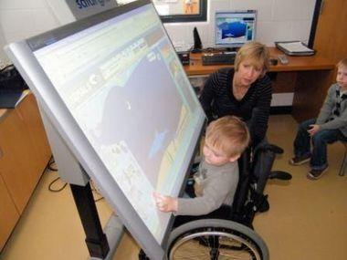 L'intérêt de l'écran interactif dans l'accompagnement du handicap | Courants technos | Scoop.it