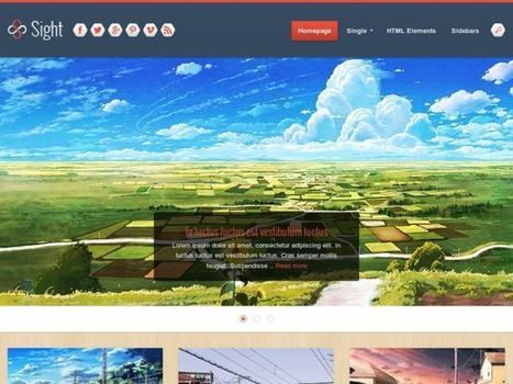 Sight Blogger Template | Web Design And Blogging | Scoop.it