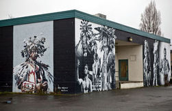 Beloved Native American murals at Wilson-Pacific may disappear | Street art news | Scoop.it