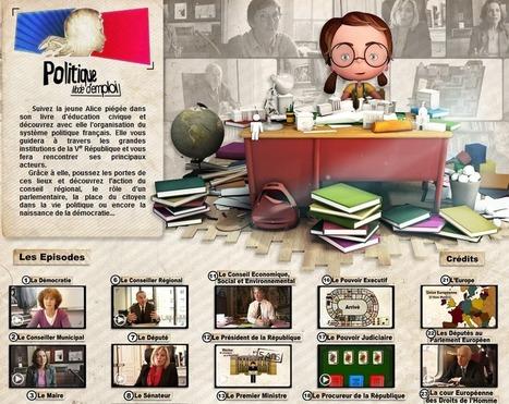 Alice à la découverte de la démocratie française | Français 4H | Scoop.it