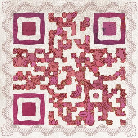 Les QRious Déco, des codes artistiques uniques et modifiables à l'infini ! | artcode | Scoop.it