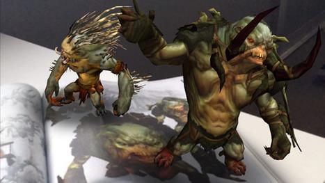 Blizzard donne vie aux monstres de Diablo avec la réalité augmentée - Numerama | Réalité augmentée | Scoop.it