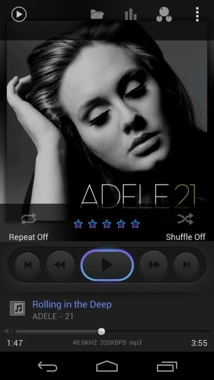 Poweramp Dark skin v1.6 | ApkLife-Android Apps Games Themes | Android Applications And Games | Scoop.it