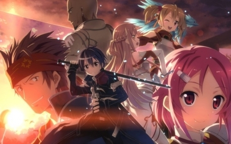 Dynit annuncia Sword Art Online | ring of legends | Scoop.it