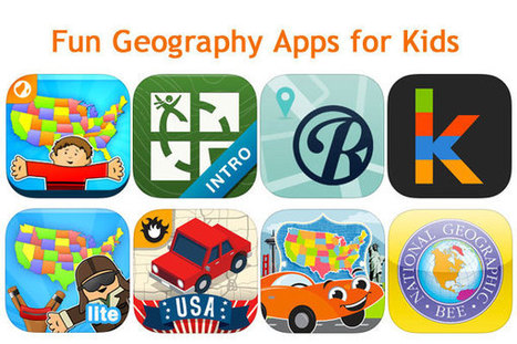 Map Out Your Summer Adventures with Geography Apps | Prep Geography | Scoop.it
