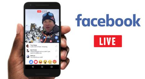 Facebook Live : 6 nouveautés à découvrir ! | Internet world | Scoop.it