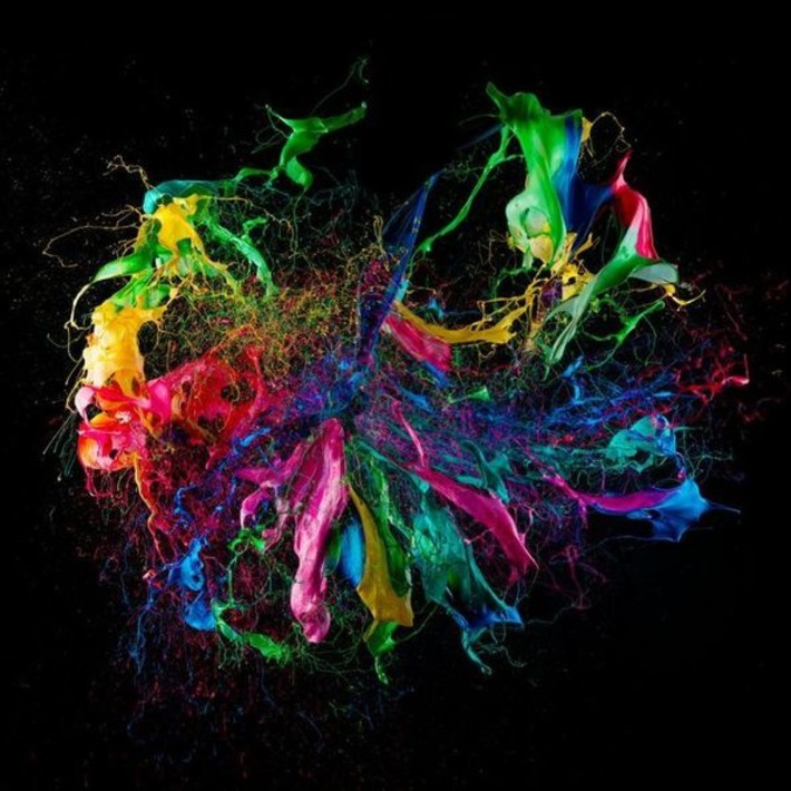 High speed photography of balloons covered with paint exploding by Fabian Oefner | For Art's Sake-1 | Scoop.it