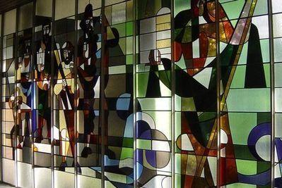 'Verdwenen' ramen van Don Bosco te zien in Hal 25 Alkmaar | Blik op het verleden: Alkmaar | Scoop.it