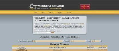 Cómo crear una WebQuest | Educacion, ecologia y TIC | Scoop.it