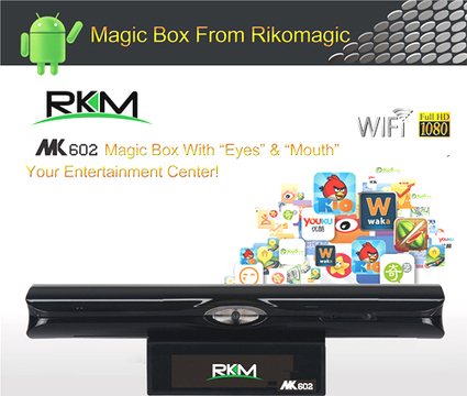 RKM Rikomagic MK602 TV Magic Box Dual Core 1.6GHz 1GB 8GB - AsiaPads.com | ASIAPADS.COM - Tablet PC - Android TV - Electronics from China | Scoop.it