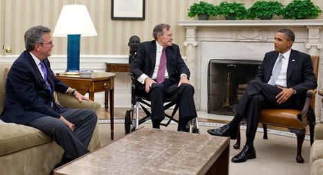 Obama to host George H.W. Bush at White House - Politics Balla   Politics Daily News   Scoop.it