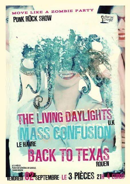 The Living Daylights (UK) + Mass Confusion + Back To Texas | Rouen | Scoop.it