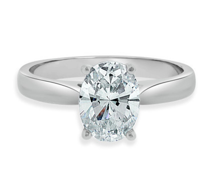 1.0 Carat Oval Cut Solitaire Engagement Ring SR1016 | Bespoke Rings | Engagement Rings Dublin | Scoop.it
