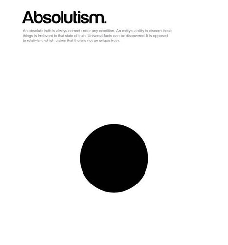 Infographic Posters Reduce Huge Philosophical Ideas To Shapes And Colors | Co. Design | Message Design | Scoop.it