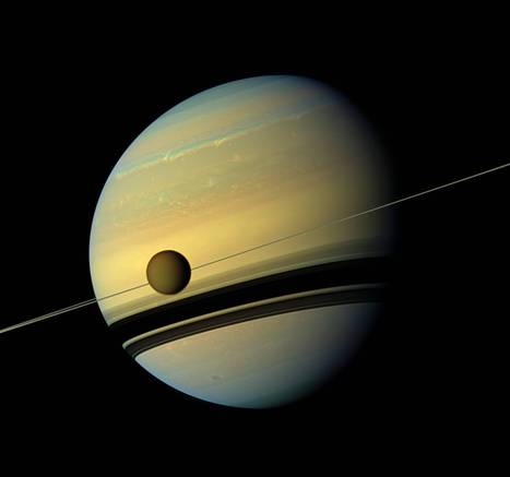 Saturn's expecting: New images suggest that the planet is about to 'give birth' to a new moon | Future Making through Research and Development | Scoop.it