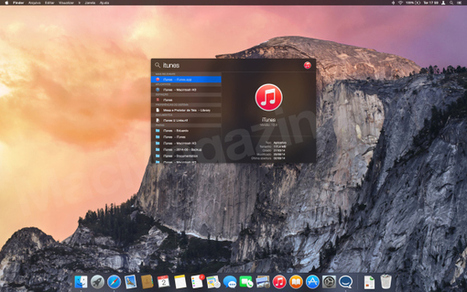 Confira um compilado de screenshots com as mudanças do OS X Yosemite Developer Preview 7 | Apple Mac OS News | Scoop.it