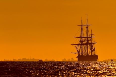 « L'Hermione » est arrivée au Grand Port de La Rochelle pour une escale technique   Le Voyage de l'Hermione   Scoop.it