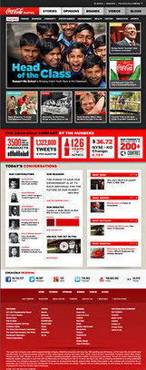 Coke Revamps Web Site to Tell Its Story   Public Relations and Journalism   Scoop.it