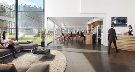 Tour de France du Télétravail : Nexity dévoile son concept Blue Office | D'Dline 2020, vecteur du bâtiment durable | Scoop.it