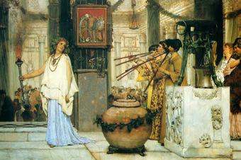 DE REYES, DIOSES Y HÉROES: La música en la antigua Roma | Mundo Clásico | Scoop.it