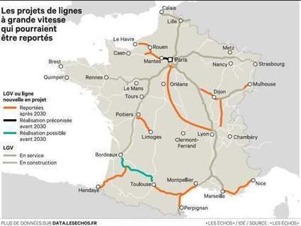 Infrastructures: la France va rompre avec le tout-TGV | Intelligence territoriale et développement durable | Scoop.it