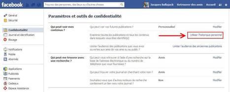 Retrouver son historique personnel sur Facebook | Je, tu, il... nous ! | Scoop.it