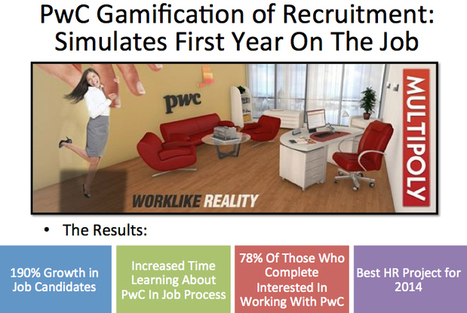 Future Of Work: Using Gamification For Human Resources | Peer2Politics | Scoop.it