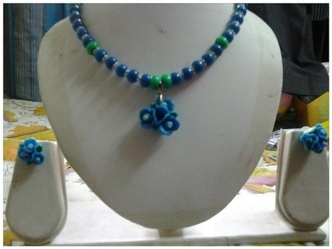 Blue Roses - Craftsia - Indian Handmade Products & Gifts | Indian Handmade Jewelry | Scoop.it