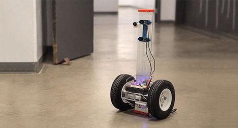 Ce robot intelligent pourra vous sauver la vie en vous retrouvant dans un incendie | Actualité robotique | Scoop.it