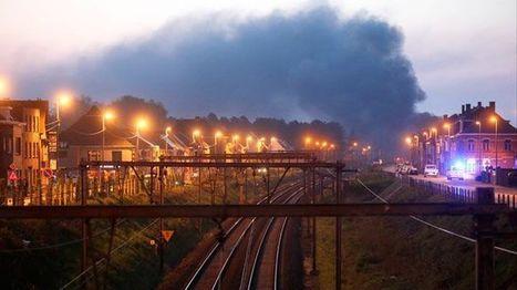 Zware brand na treinontsporing in Wetteren (week 18) | news belgium | Scoop.it