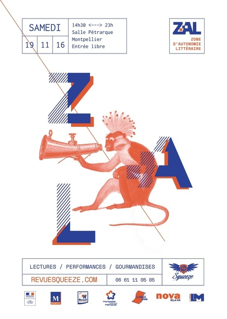 19/11 Zone d'Autonomie Littéraire 2016 | Revue Squeeze | Outils de recherche pour les TPE des filières littéraires et artistiques | Scoop.it